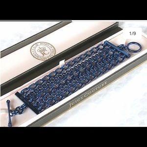 💎 Juicy couture multi chain blue bracelet 💙